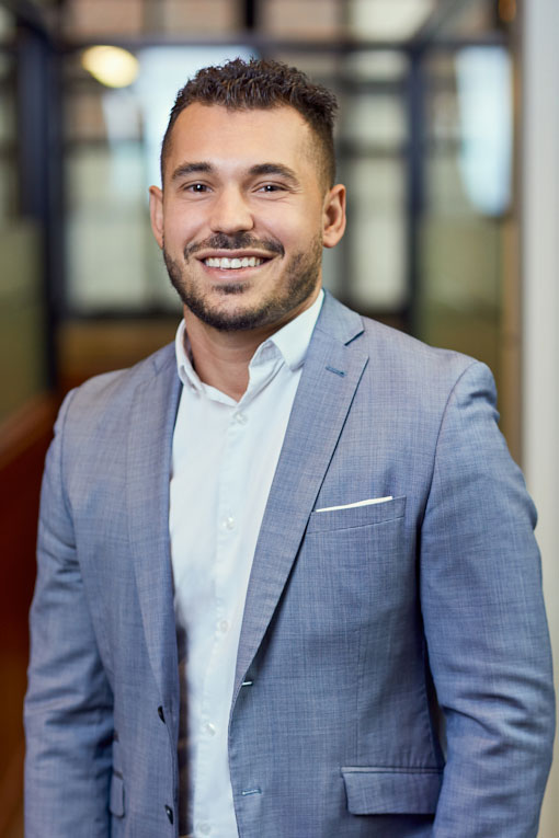 Adam Hassoulas, Account Manager
