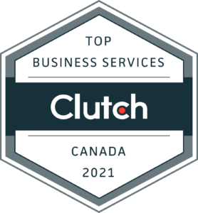 Clutch Award top Business Services Canada 2021